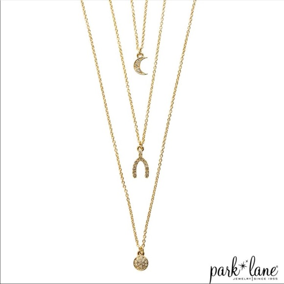 b0df270e04025 Park lane Threes a Charm Necklace